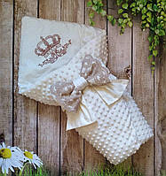 Конверт на выписку, конверт-одеяло на выписку, нарядный конверт на выписку