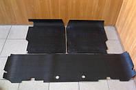 Коврики салона резининовые УАЗ 469 (полный комплект на авто передние, задний) (пр-во Россия) U ПД 219616