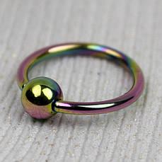 Кольцо с шариком хир. сталь, бензин