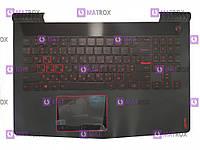 Оригинальная клавиатура для ноутбука Lenovo Legion R720, R720-15IKB series, ua, black, подсветка