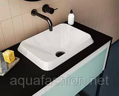 Накладний умивальник 450*320 з штучного каменю Fancy Marble ALBENA