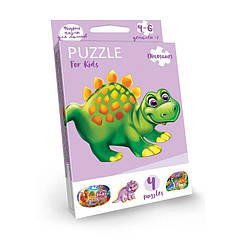 "Розвиваючі пазли ""Динозаврик"" ""Puzzle For Kids"" PFK-05"