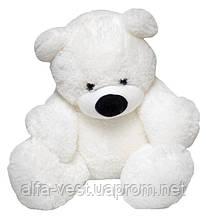 Великий плюшевий ведмедик Аліна Бублик 140 см білий