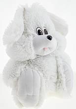 Плюшевий Зайчик Аліна сидячий 35 см білий