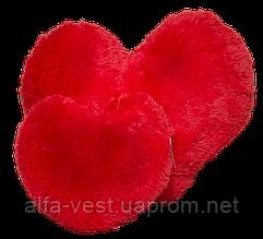 Плюшева подушка Серце Червоний 22см