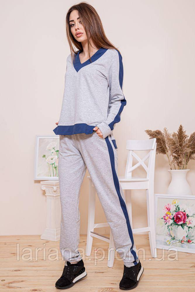 Спорт костюм жіночий 102R147 колір Сіро-синій