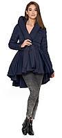 Куртка осенне-весенняя синяя женская модель 25755 - XS, S