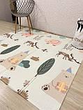Безкоштовна доставка!Дитячий складаний термоковрик (Мозаїка/Ліс) на 180 200 см, фото 10