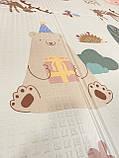 Безкоштовна доставка!Дитячий складаний термоковрик (Мозаїка/Ліс) на 180 200 см, фото 8