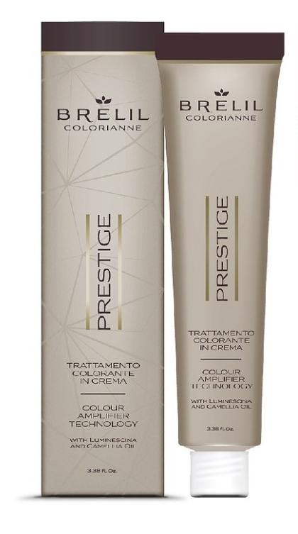 Стойкая крем-краска для волос Colorianne Prestige 6/34 тёмно-русый золотисто-медный