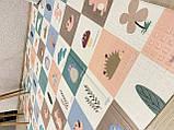 Безкоштовна доставка!Дитячий складаний термоковрик (Мозаїка/Ліс) на 180 200 см, фото 9