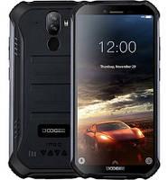 """Смартфон Doogee S40 Pro 4/64GB IP68 Black, 2sim, екран 5.45"""" IPS, 13+2/5Мп, GPS, 4G (LTE), 4 ядра, 4650мАч"""