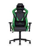 Кресло геймерское Hexter (Хекстер) PRO R4D TILT MB70 02 BLACK/GREEN черный/зеленый, фото 3