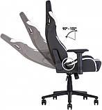 Кресло геймерское Hexter (Хекстер) PRO R4D TILT MB70 02 BLACK/GREEN черный/зеленый, фото 4