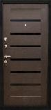 Двери металлические входные квартирные Магда 600/3 венге магия/608 венге южное, фото 3