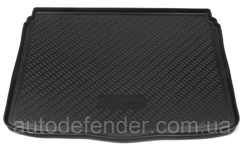 Коврик в багажник для Fiat 500X 2014-2021, резино-пластиковый (Lada Locker)