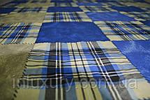 Простынь на резинке Шотландка 80х190х20, фото 3