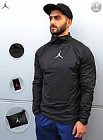 Ветровка анорак Jordan 23 Tech Packable Anorak With Bag (Чёрный)