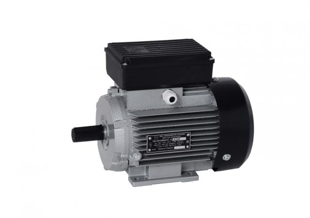 Электродвигатель  АИ1Е80А4 (0,75 кВт, 1436 об/мин, однофазный,  лапы)