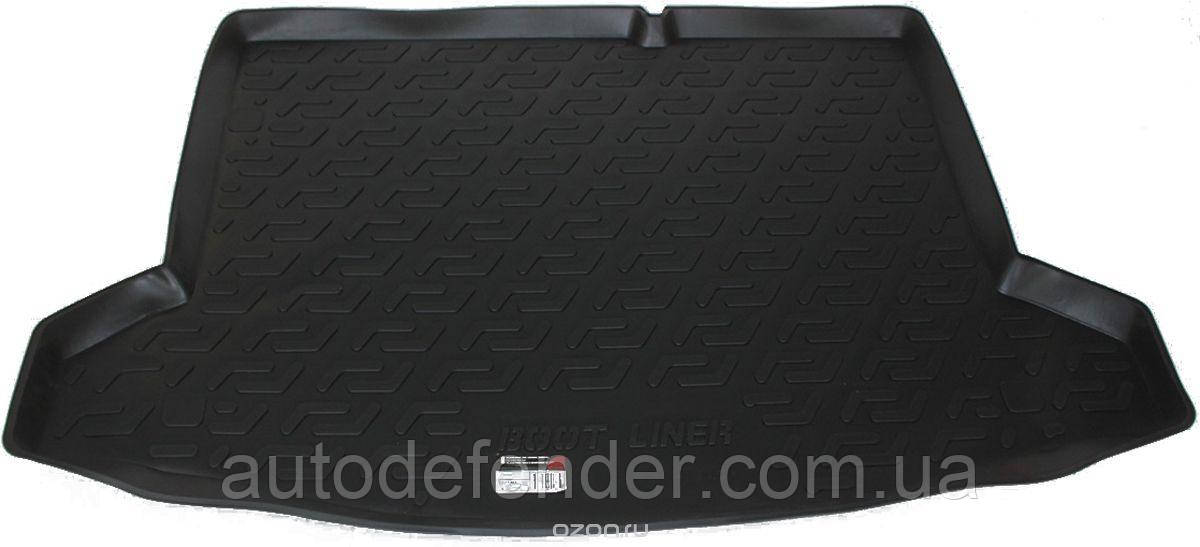 Коврик в багажник для Suzuki SX4 2013- нижний, резино-пластиковый (Lada Locker)