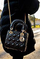 """Сумка Christian Dior """"Черная"""", фото 3"""