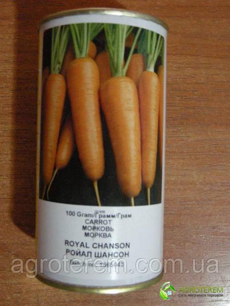Семена моркови Роял Шансон ROYAL CHANSON F1 100гр