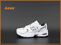 Кроссовки мужские New Balance 530 в стиле Нью Бэланс Кросівки чоловічі Нью Беланс білі