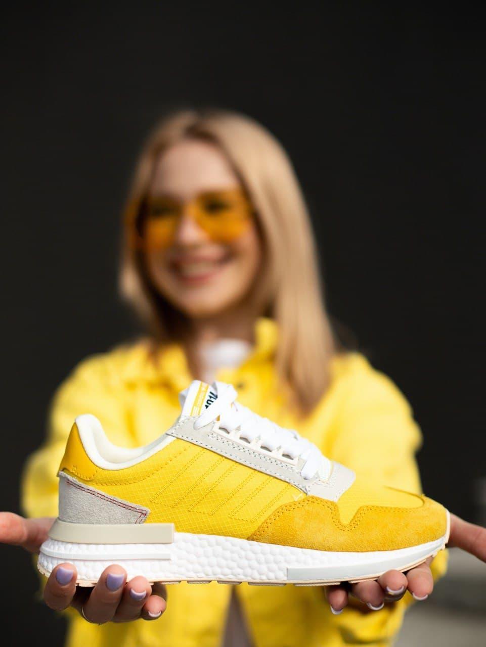 Жіночі  Кросівки Adidas ZX 500 RM Bold Gold