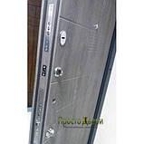 Двери металлические входные квартирные Магда 601/3 дуб шато эко/605 дуб шато эко, фото 3