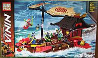 Конструктор 61060 Летючий корабель Мастера Ву НиндзяГо 705 деталей