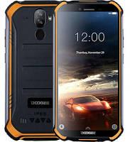 """Смартфон Doogee S40 Pro 4/64GB IP68 Orange, 2sim, екран 5.45"""" IPS, 13+2/5Мп, GPS, 4G (LTE), 4 ядра, 4650мАч"""