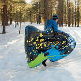 Надувний тюбінг H2OGO! 168х119 см, морозустойчивый ПВХ 39014, фото 4