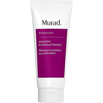 Очищающий крем-эксфолиатор c AHA-кислотами Murad Hydration Aha/Bha Exfoliating Cleanser 200 мл