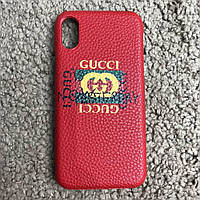 Gucci iPhone X Case Future Red
