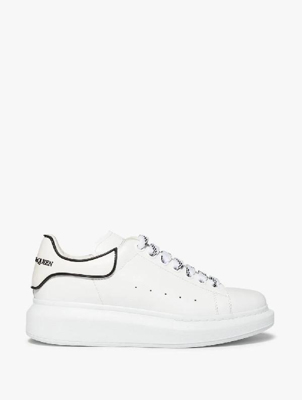 "Кросівки Alexander McQueen Velcro White Black ""Білі"""