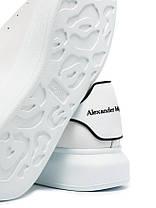"Кросівки Alexander McQueen Velcro White Black ""Білі"", фото 2"