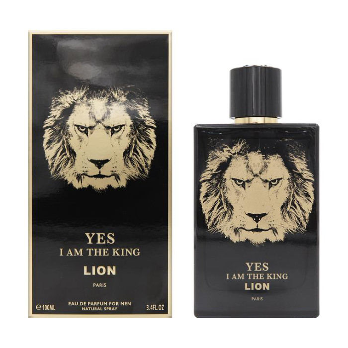 Мужская парфюмерная вода  Yes I Am The King Lion100ml.Geparlys.