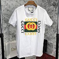 Gucci Logo Cotton T-shirt White