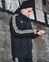 Куртка весенняя мужская Adidas Originals черная