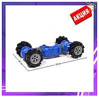 Трюковая игрушка машинка-перевёртыш Champions, радиоуправление, управление с руки, синяя