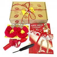 Подарочный эротический набор 18+ LOVE BOX 8148
