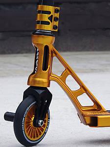 Самокат Трюковый Maraton Power Slide HIC с пегами, Трюковой, колеса алюминиевые 110 мм, для трюков