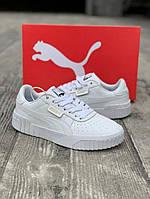 Puma Cali белие женские кросовки