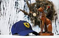 Кепка Ferrari blue