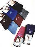 Шкарпетки махрові жіночі з візерунком 12 шт упаковка., фото 4