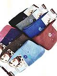 Шкарпетки махрові жіночі з візерунком 12 шт упаковка., фото 2