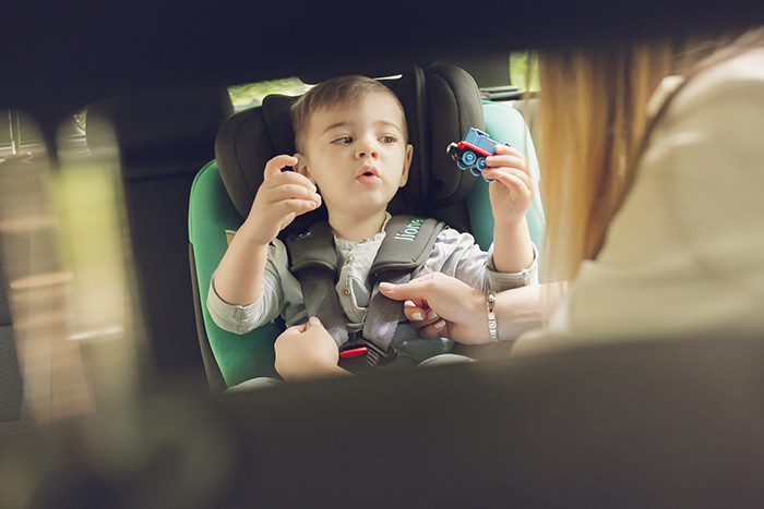 Дитяче автокрісло Lionelo SANDER GREY
