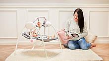 Дитяче крісло-гойдалка Lionelo RUBEN STONE GREY