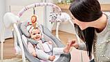 Дитяче крісло-гойдалка Lionelo RUBEN STONE GREY, фото 4