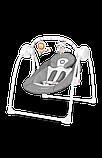 Дитяче крісло-гойдалка Lionelo RUBEN STONE GREY, фото 6